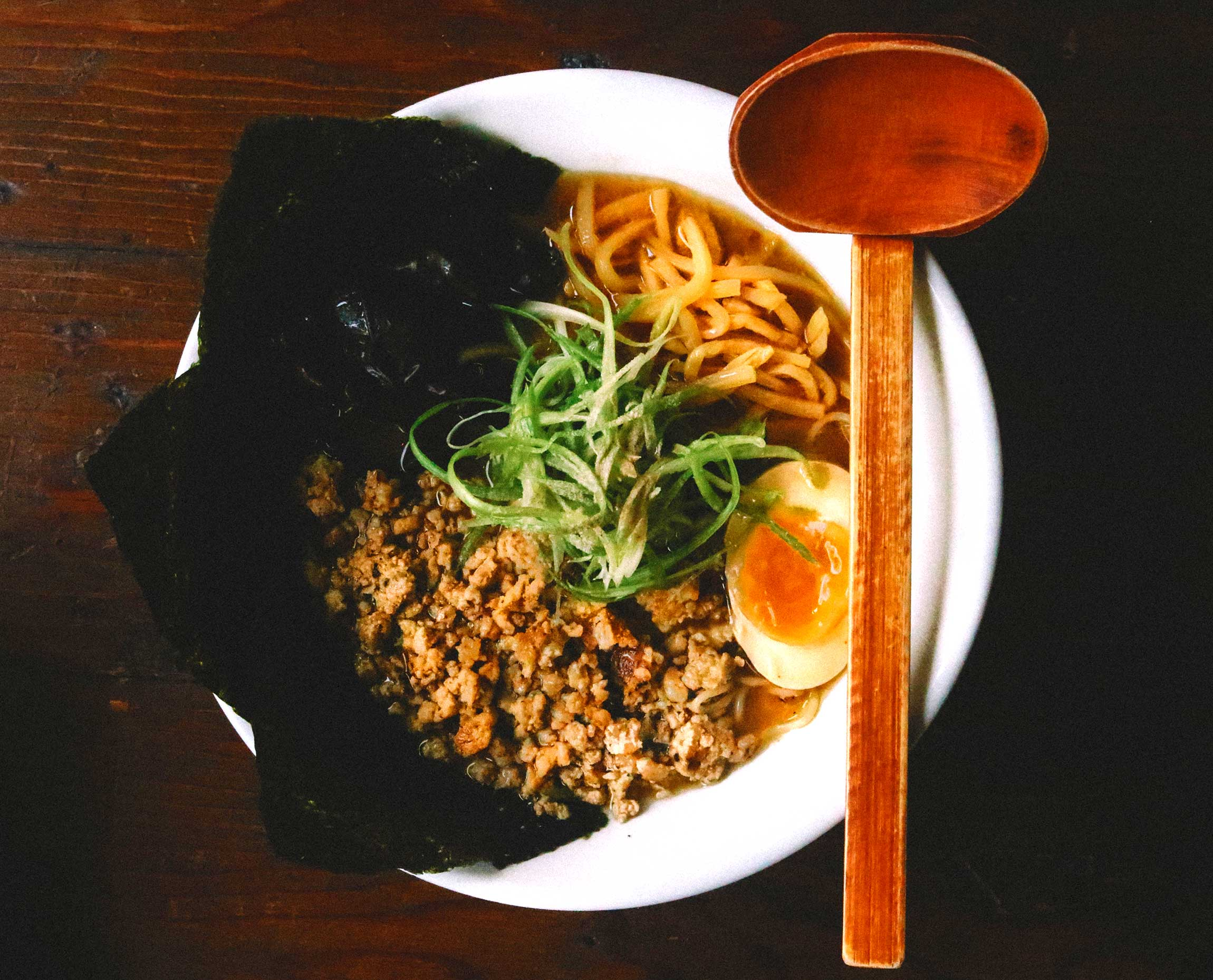 Experience Authentic ramen dishes